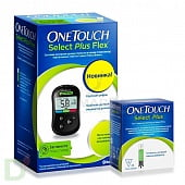 "Глюкометр ""One Touch Select Plus FLEX"" + 25 тест-полосок"